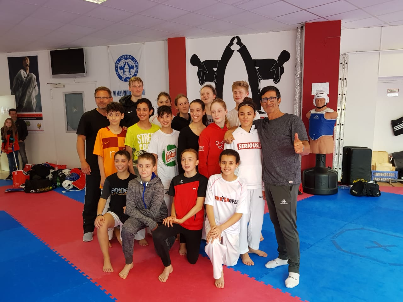 TKD Center Sparring in Wuppertal